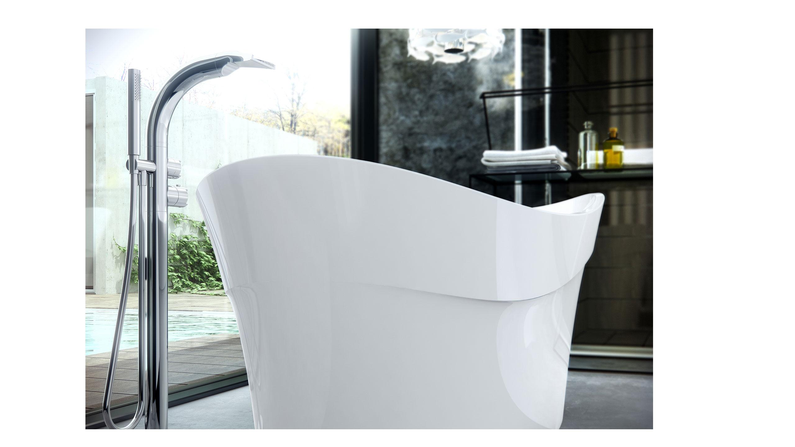Pescadero Freestanding Bath By V A Castle Tiles And Bathroom Studio