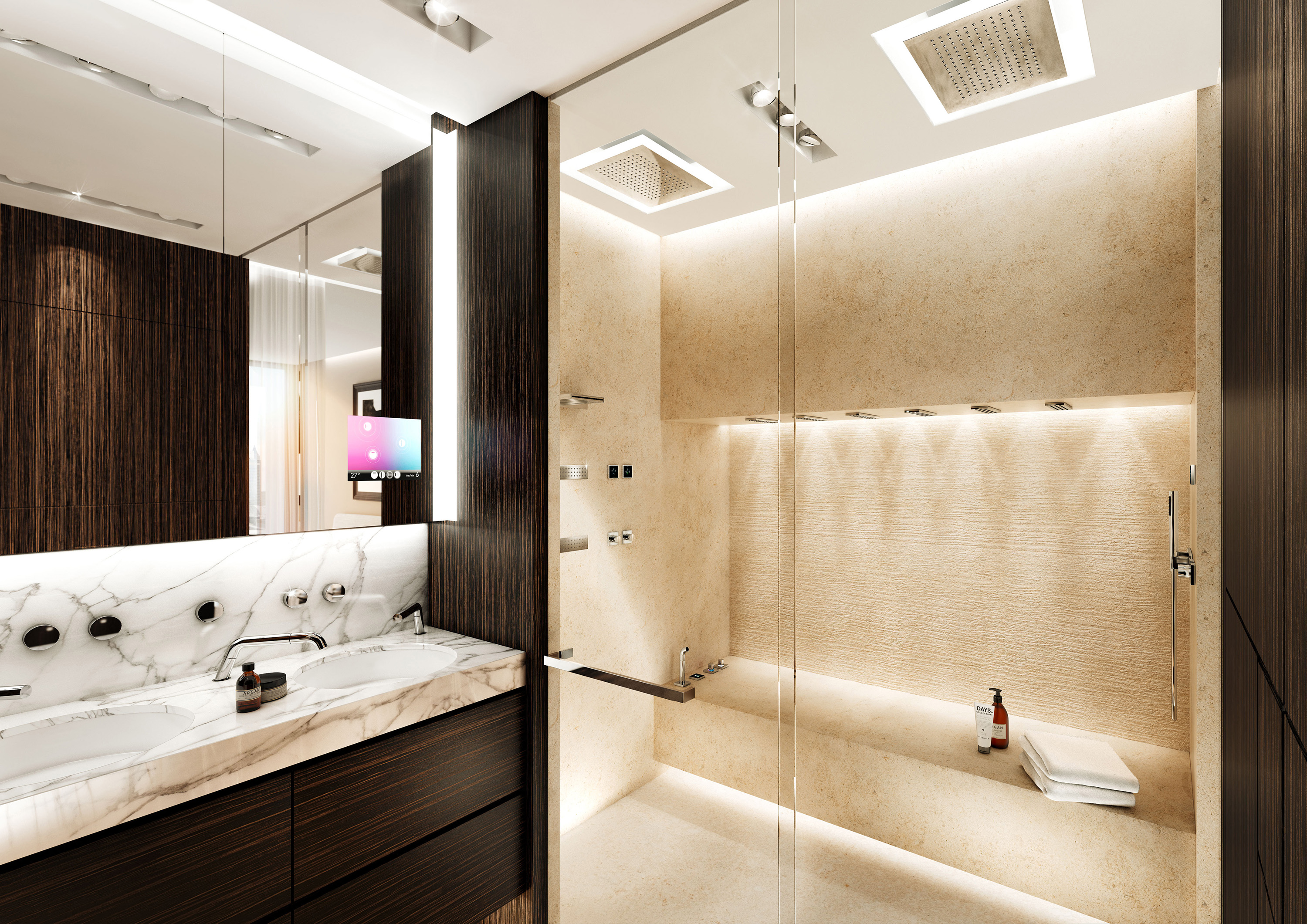A Luxury Spa For The Modern Bathroom