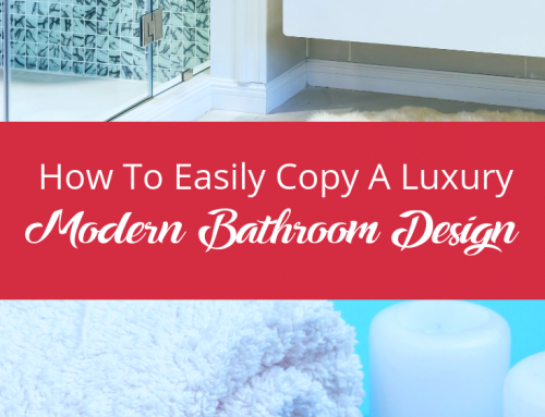How To Easily Copy A Luxury Modern Bathroom Design