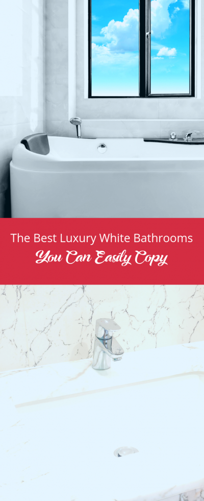 Luxury White Bathrooms