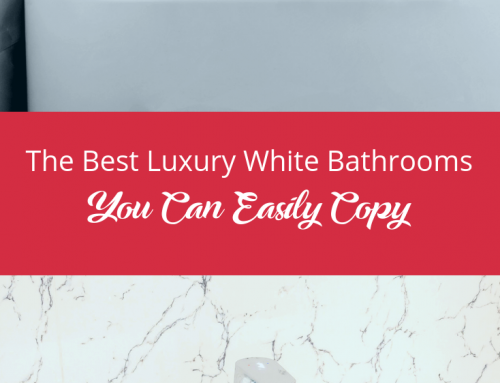The Best Luxury White Bathrooms You Can Easily Copy