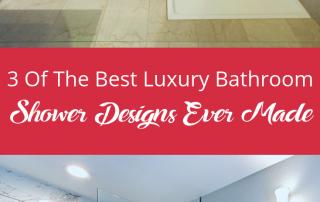 Luxury Bathroom Shower Designs