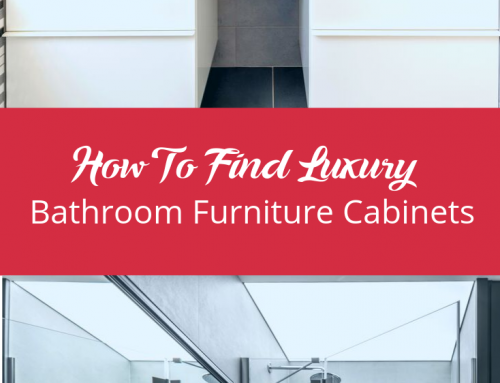 How To Find Luxury Bathroom Furniture Cabinets